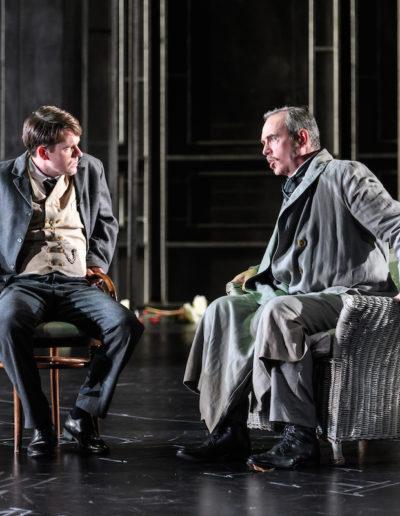LA TRAVIATA. Scottish Opera, Theatre Royal, Glasgow, Britain - 16th Oct 2017