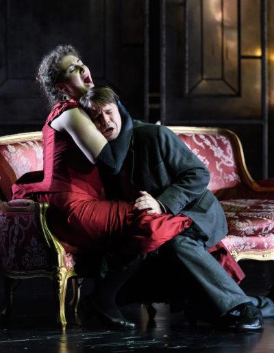 LA TRAVIATA. Scottish Opera, Theatre Royal, Glasgow, Britain - 17th Oct 2017